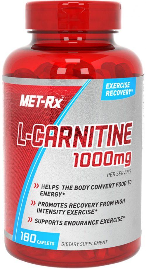 MET-RX L-Carnitine - 180 Caplets