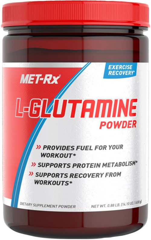 MET-RX L-Glutamine Powder - 400 Grams