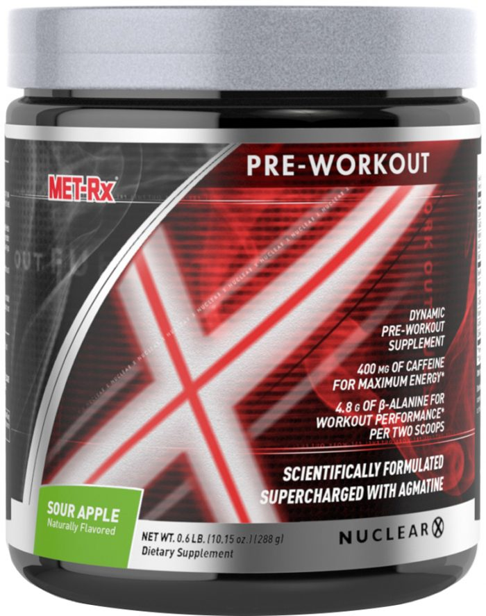 MET-RX Nuclear X - 24 Servings Sour Apple