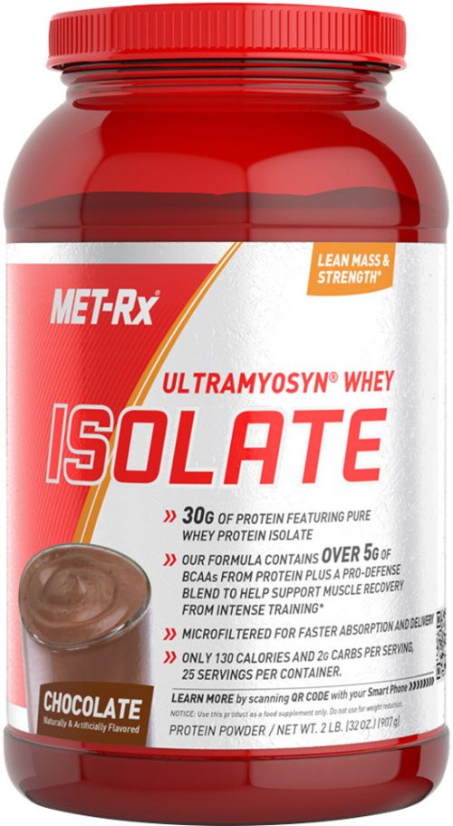 MET-RX Ultramyosyn Whey Isolate - 2lbs Chocolate