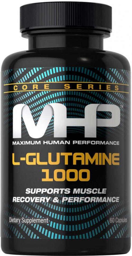 MHP L-Glutamine 1000 - 60 Capsules