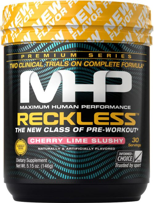 MHP Reckless - 30 Servings Cherry Lime Slushy