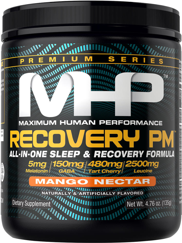 MHP Recovery PM Powder - 25 Servings Mango Nectar