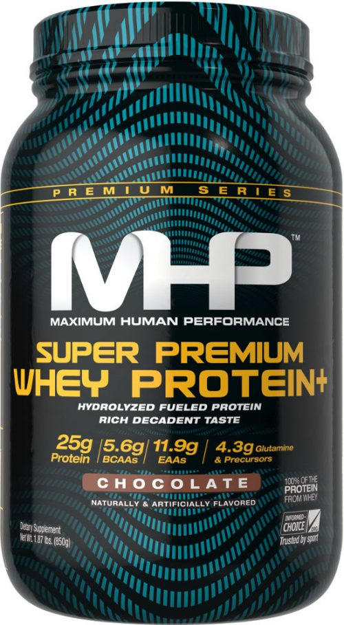 MHP Super Premium Whey Protein+ - 2lb Chocolate