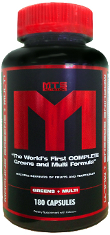 MTS Nutrition Machine Greens + Multi - 180 Capsules