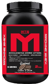 MTS Nutrition Machine Whey - 2lbs Creamy Red Velvet Cake