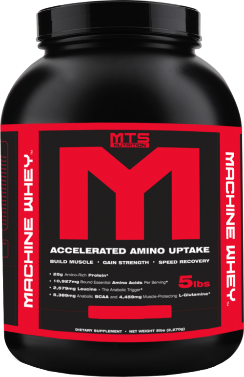 MTS Nutrition Machine Whey - 5lbs Creamy Red Velvet Cake
