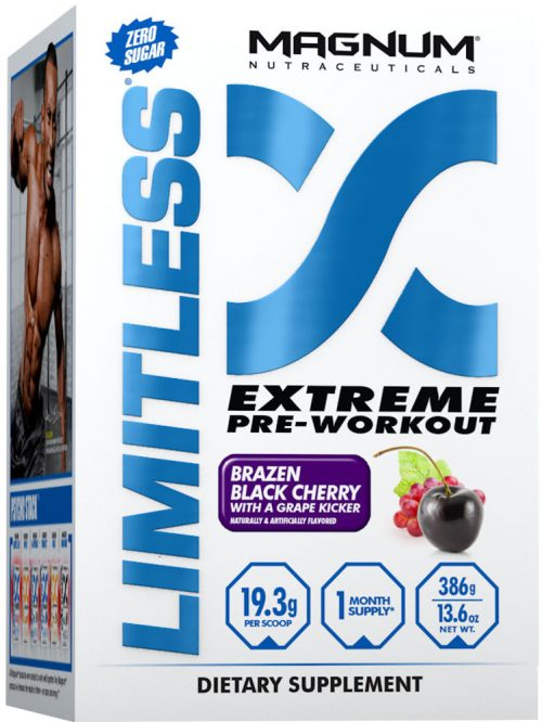Magnum Nutraceuticals Limitless - 20 Servings Black Cherry with a Grap