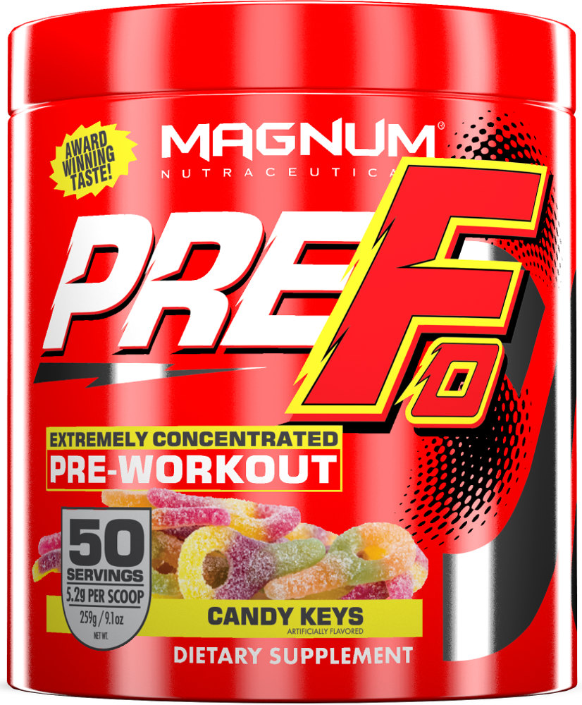 Magnum Nutraceuticals PRE-FO - 50 Servings Candy Keys