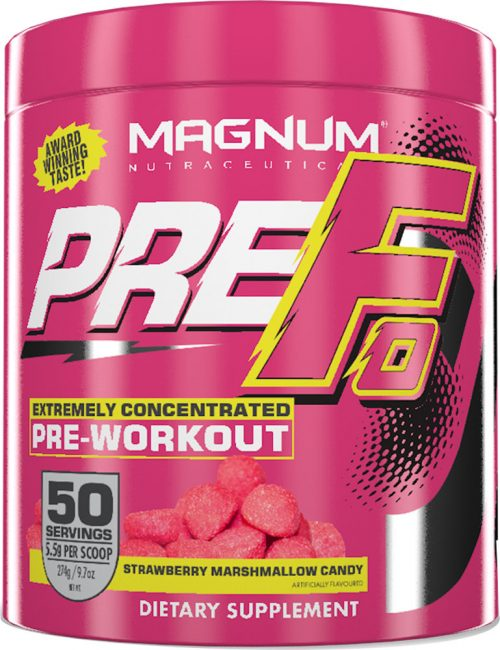 Magnum Nutraceuticals PRE-FO - 50 Servings Strawberry Marshmallow Cand