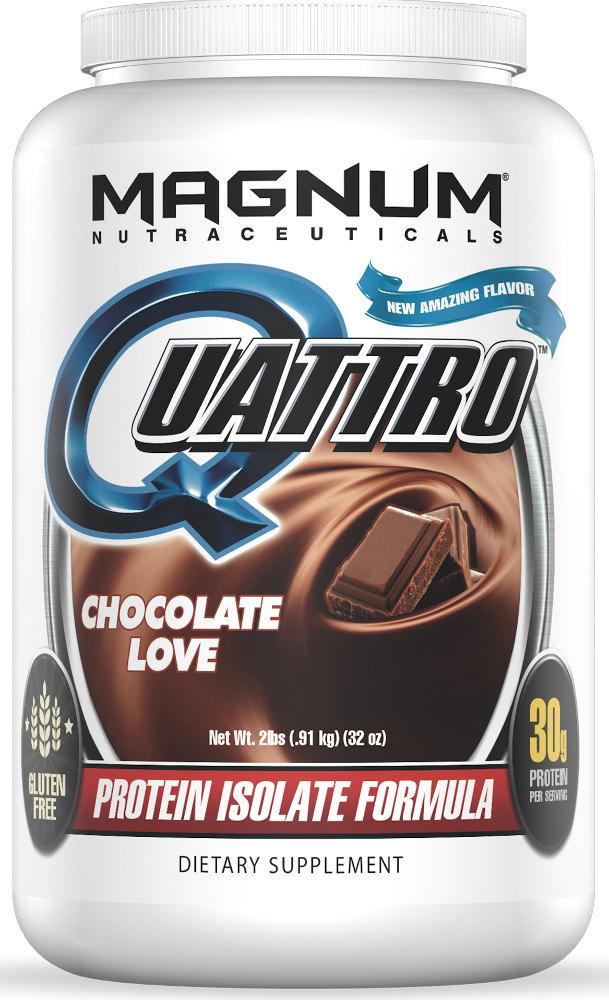 Magnum Nutraceuticals Quattro - 2lbs Chocolate Love