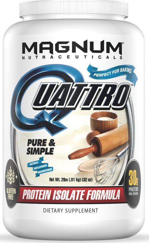 Magnum Nutraceuticals Quattro - 2lbs Pure & Simple (Unflavored)