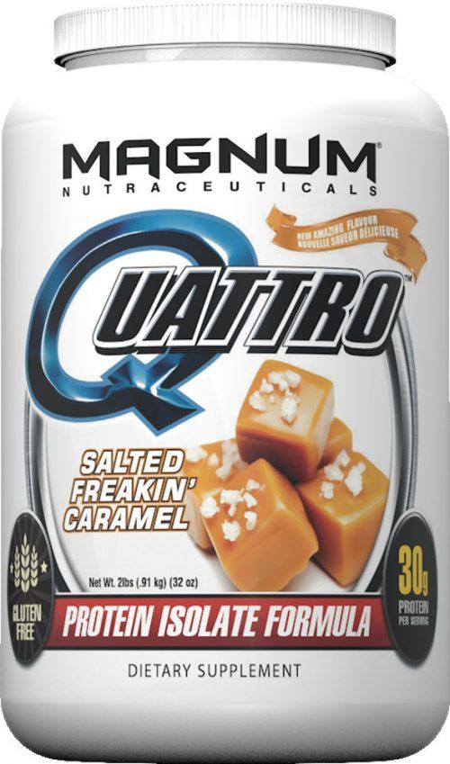 Magnum Nutraceuticals Quattro - 2lbs Salted Freakin' Caramel