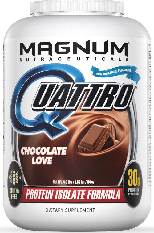 Magnum Nutraceuticals Quattro - 4lbs Chocolate Love