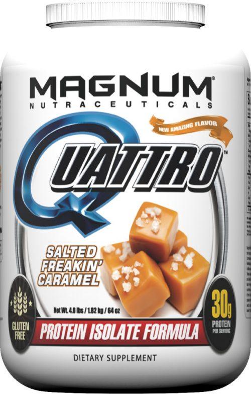 Magnum Nutraceuticals Quattro - 4lbs Salted Freakin' Caramel