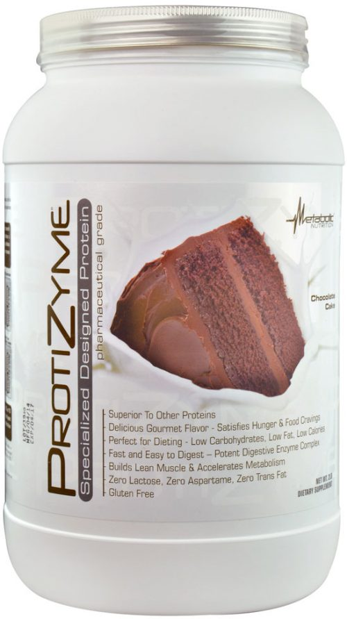 Metabolic Nutrition ProtiZyme - 2lbs Chocolate Cake