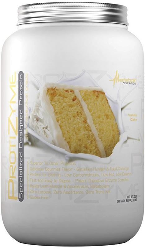 Metabolic Nutrition ProtiZyme - 2lbs Vanilla Cake