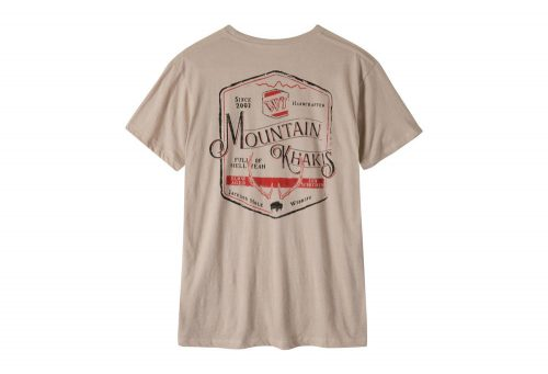 Mountain Khakis Genuine MK T-Shirt - Men's - freestone heather, small