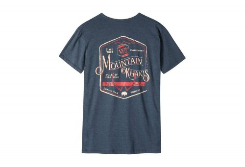 Mountain Khakis Genuine MK T-Shirt - Men's - twilight heather, small