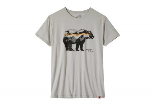 Mountain Khakis Moon Eyed Bear T-Shirt - Men's - heather grey, small