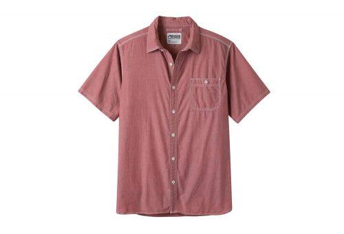 Mountain Khakis Mountain Chambray Short Sleeve Shirt - Men's - engine red, large