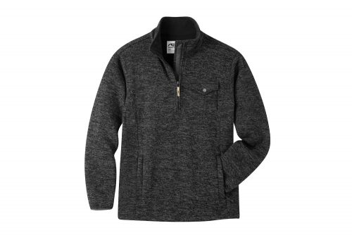 Mountain Khakis Old Faithful Quarter Zip - Men's - black, medium