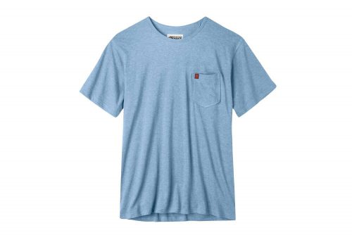 Mountain Khakis Patio Pocket Tee - Men's - blue ridge heather, large