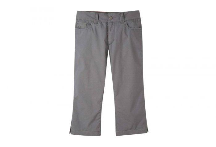 Mountain Khakis Poplin Capri Slim Fit - Women's - gunmetal, 8