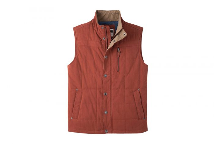 Mountain Khakis Swagger Vest - Men's - brick, x-large