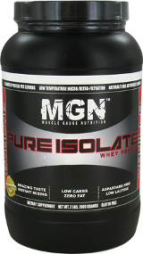 Muscle Gauge Nutrition Pure Whey Protein Isolate - 2lbs Chocolate