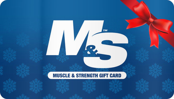 Muscle & Strength Accessories Gift Card - $25 Gift Card