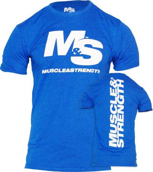 Muscle & Strength Spinal T-Shirt - Blue XL