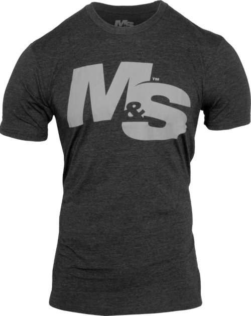 Muscle & Strength Spinal T-Shirt - Charcoal Medium