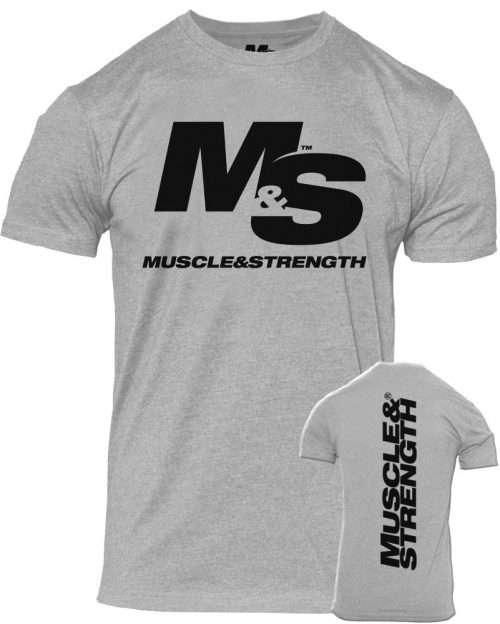 Muscle & Strength Spinal T-Shirt - Heather Large