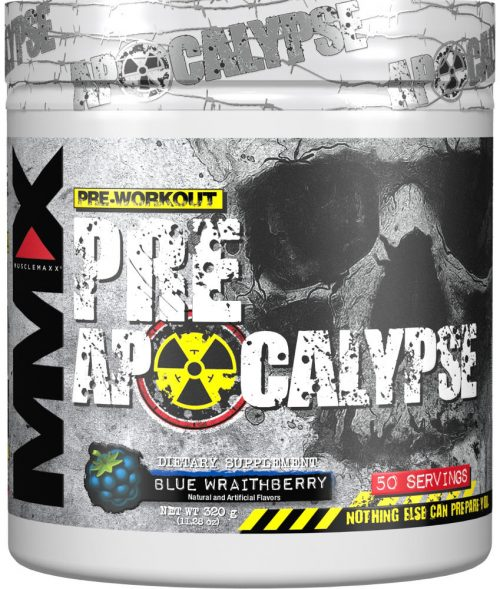 MuscleMaxx PRE Apocalypse - 50 Servings Blue Wraithberry