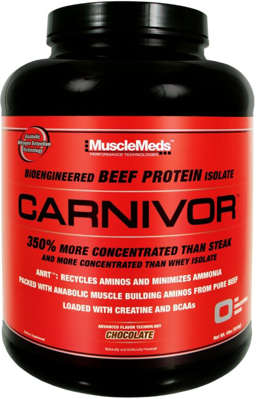 MuscleMeds Carnivor - 4lbs Chocolate