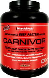 MuscleMeds Carnivor - 4lbs Peanut Butter