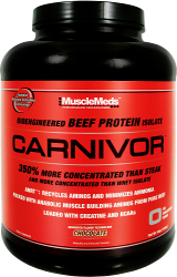 MuscleMeds Carnivor - 4lbs Strawberry