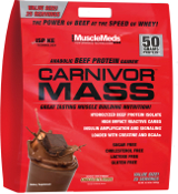 MuscleMeds Carnivor Mass - 10lbs Chocolate Fudge