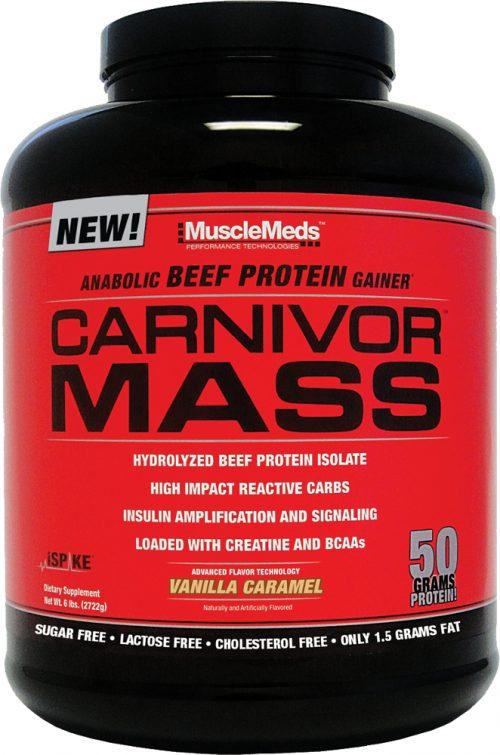 MuscleMeds Carnivor Mass - 6lbs Vanilla Caramel