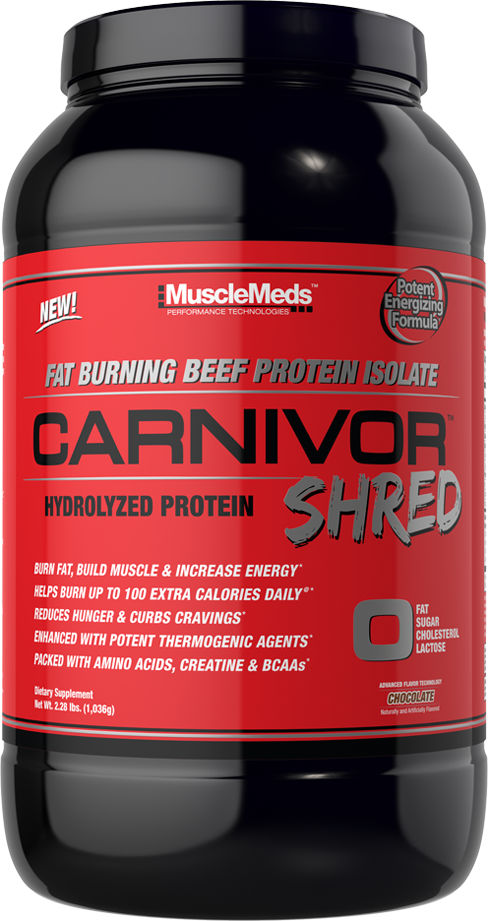 MuscleMeds Carnivor Shred - 28 Servings Chocolate
