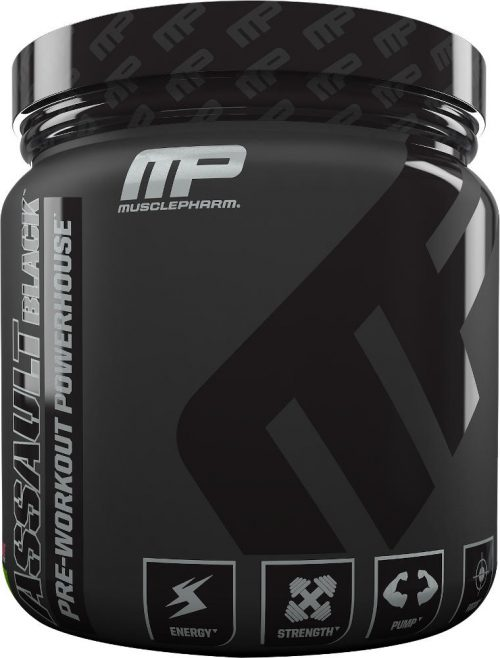 MusclePharm Assault Black - 30 Servings Strawberry Lime