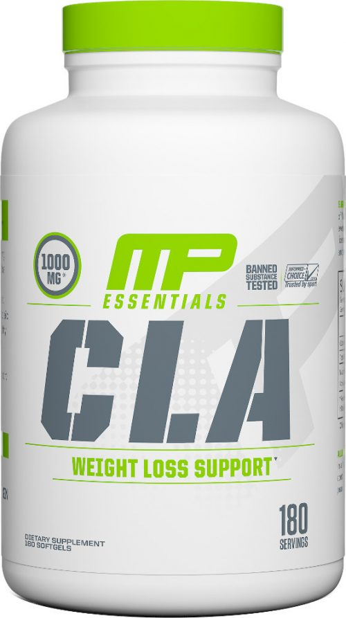 MusclePharm CLA - 180 Softgels