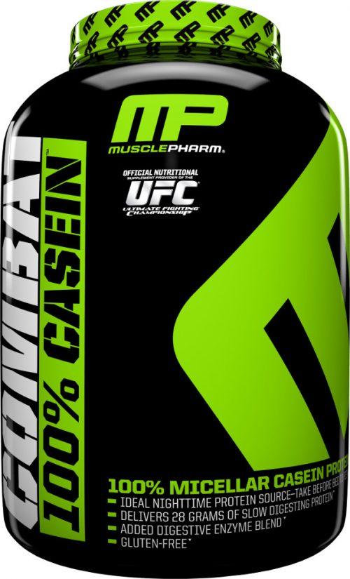 MusclePharm Combat 100% Casein - 4lbs Vanilla