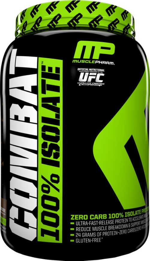 MusclePharm Combat 100% Isolate - 2lbs Chocolate Milk