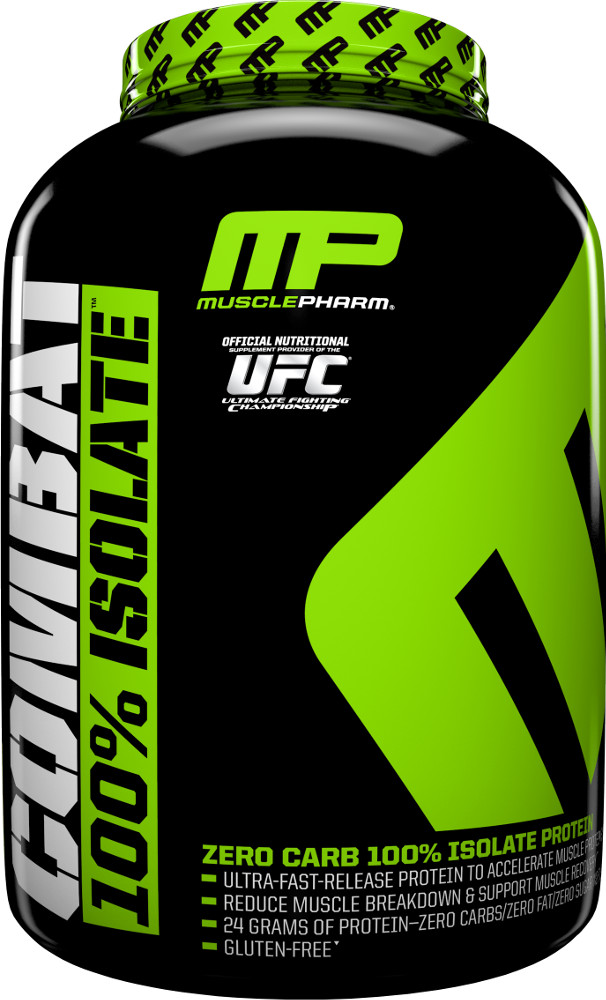MusclePharm Combat 100% Isolate - 5lbs Chocolate Milk