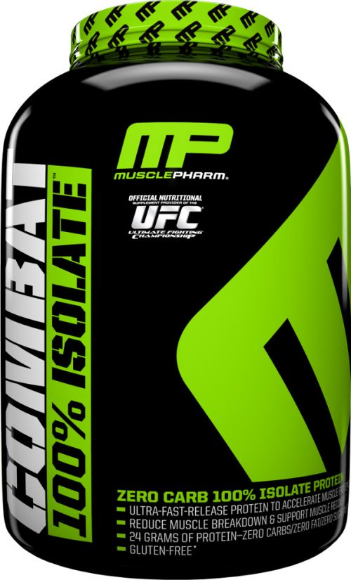 MusclePharm Combat 100% Isolate - 5lbs Vanilla Ice Cream