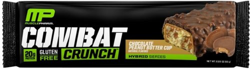 MusclePharm Combat Crunch Bars - 1 Bar Chocolate Peanut Butter Cup
