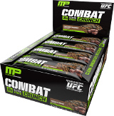 MusclePharm Combat Crunch Bars - Box of 12 Chocolate Cake