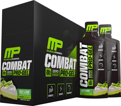 MusclePharm Combat Pro-Gel - 12 Pack Key Lime